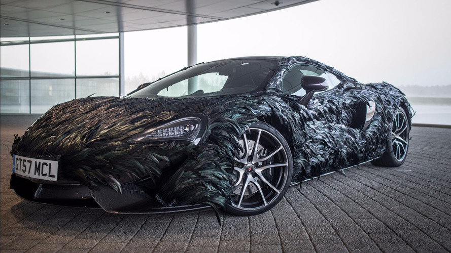 McLaren Flies In Face Of Convention With Feathered 570GT