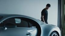 Cristiano Ronaldo Bugatti Chiron'u Test Etti