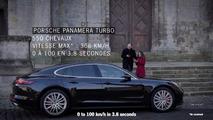 Porsche Panamera Rideshare Spoof