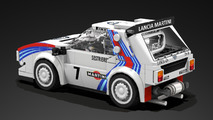 Lancia Delta S4 Lego
