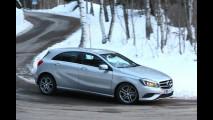 Michelin Alpin e Mercedes Classe A: la prova