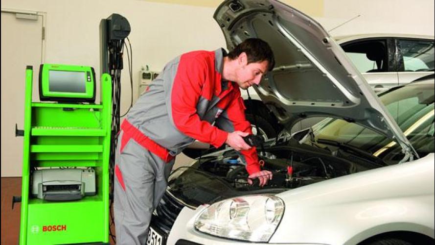Bosch ha inaugurato la prima officina AutoCrew in Italia