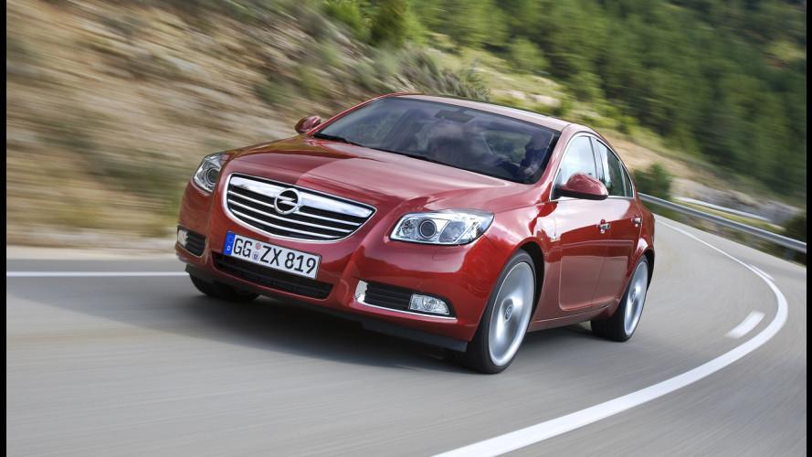 E' boom di ordini per la nuova Opel Insignia