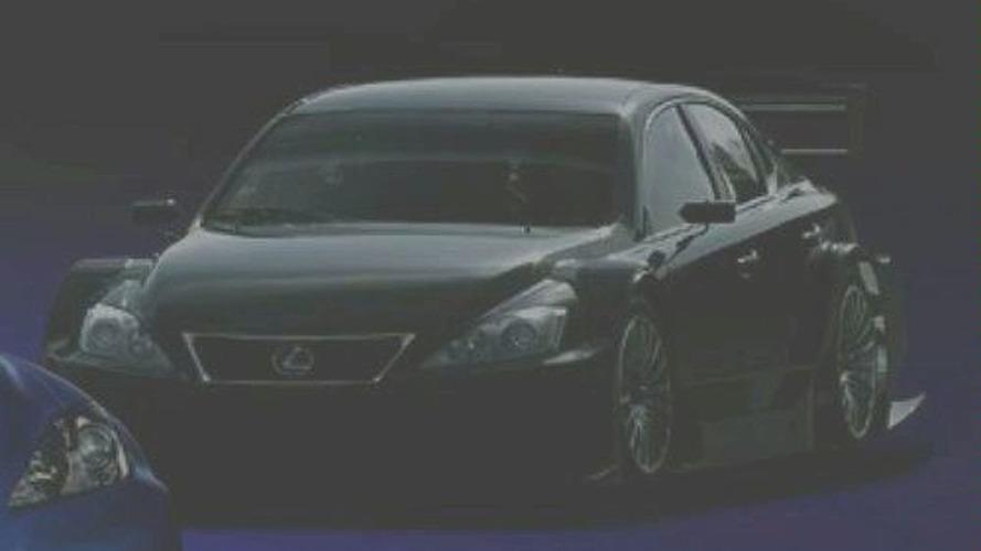 Lexus IS-F Racing Concept at Tokyo Auto Salon