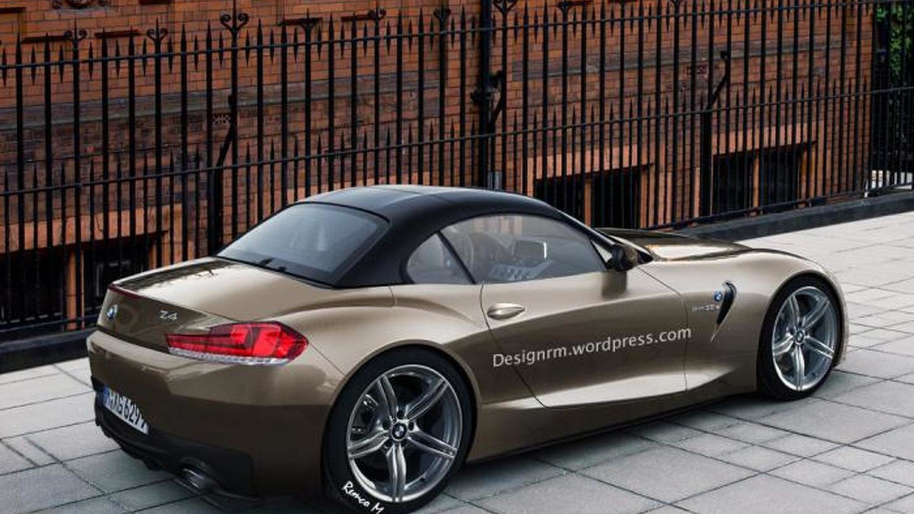 2017 2018 bmw z4 roadster imagined photos. Black Bedroom Furniture Sets. Home Design Ideas