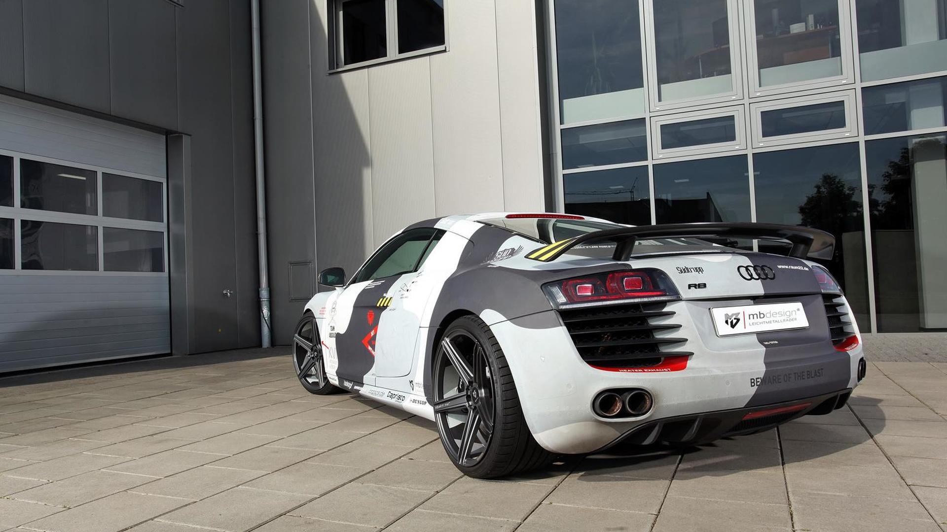 Audi R8 V8. Камуфляж от mbDESIGN