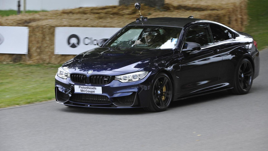 BMW Individual M4 Coupe tackles Goodwood