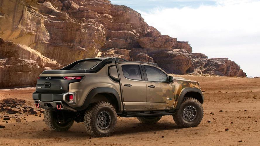 Chevrolet Colorado ZH2 pile à combustible à hydrogène