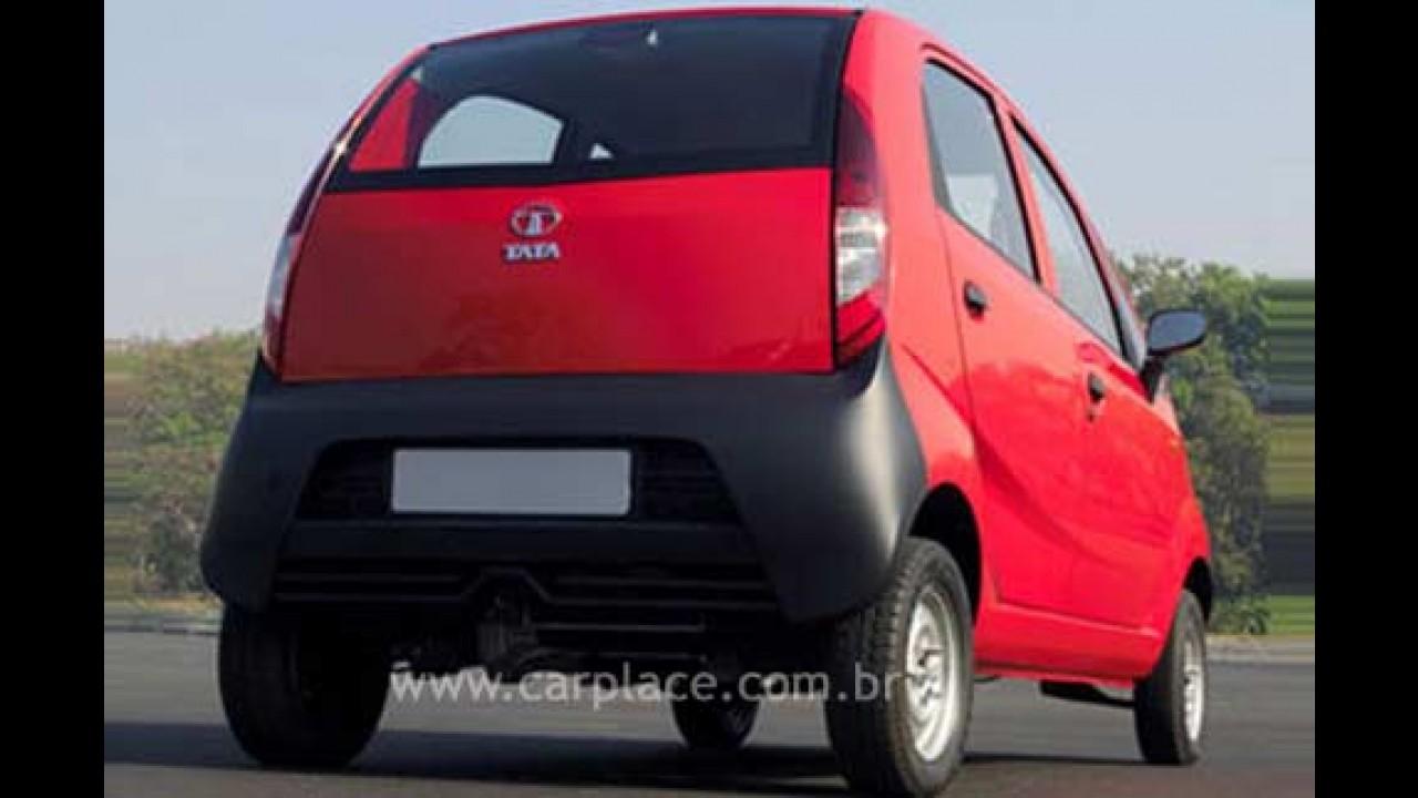 Carro mais barato do mundo: O carro do povo Tata Nano é lançado na Índia