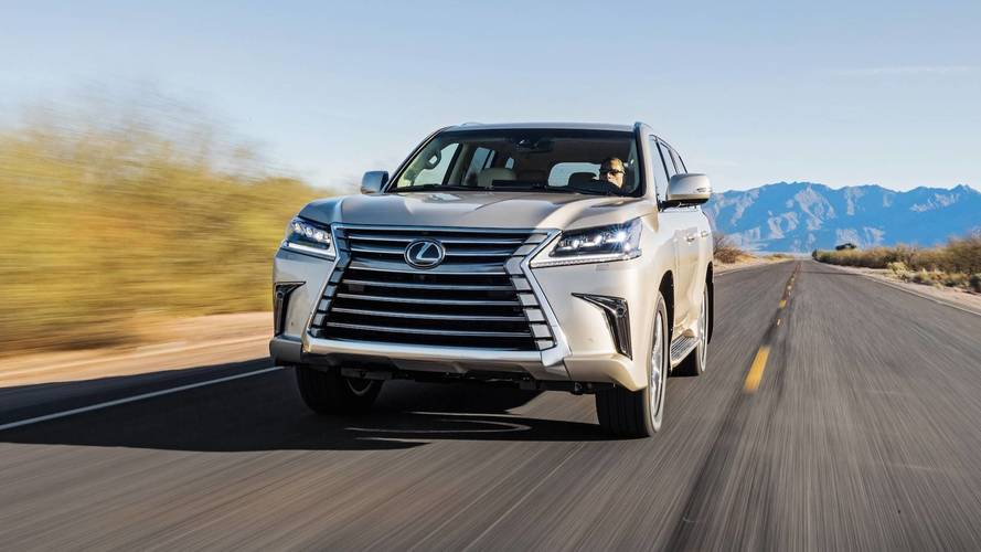 2018 Lexus LX Two-Row First Drive: So Much Room For Activities