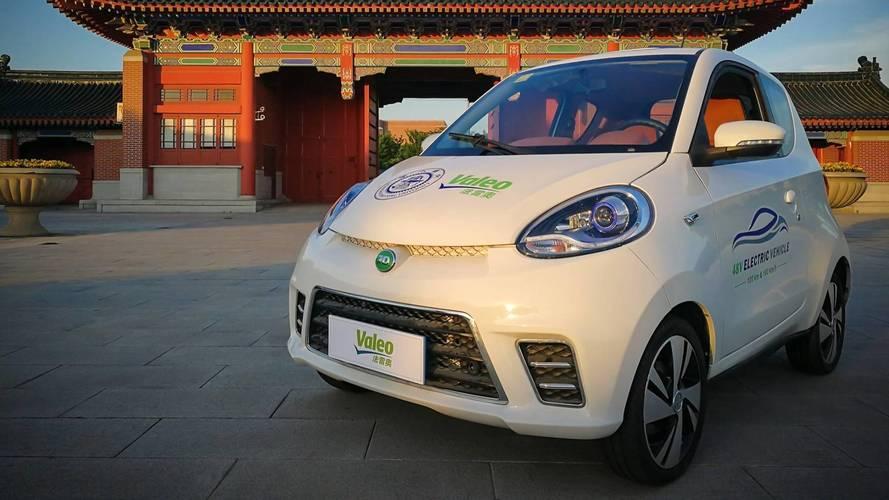 Valeo présente la voiture électrique à moins de 8000 euros