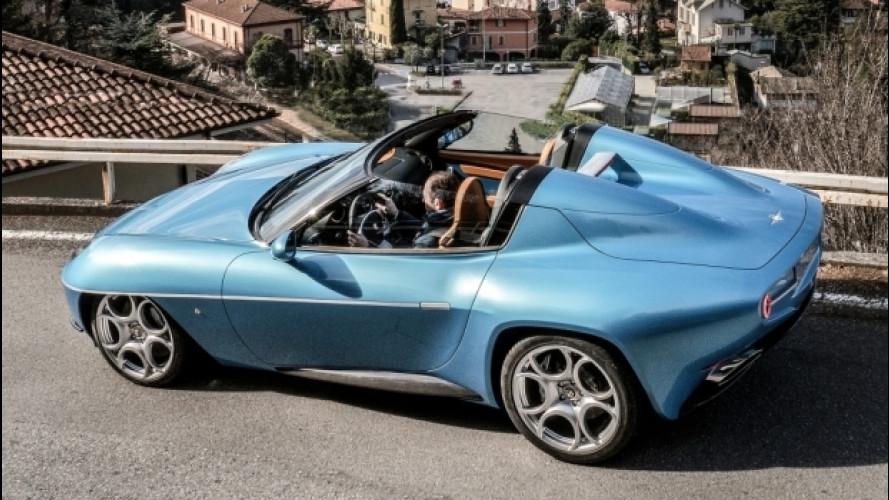 Disco Volante Spyder by Touring vola in America