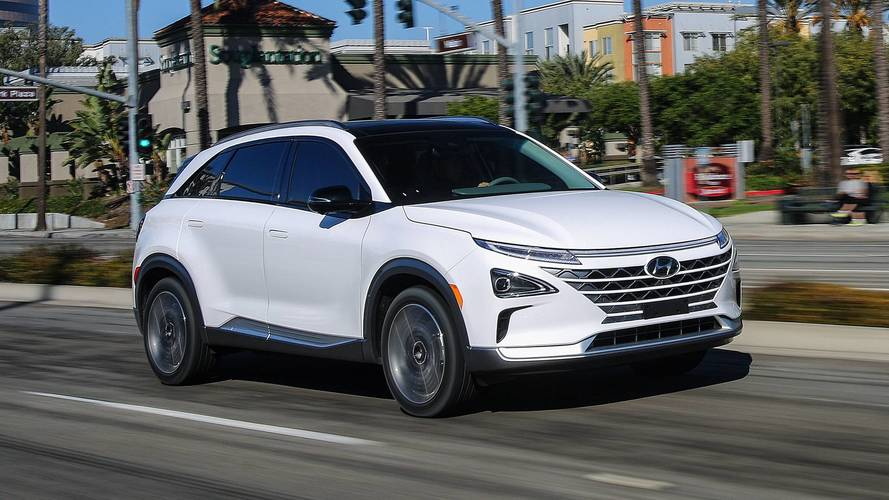 Hyundai's hydrogen-powered NEXO EV boasts fast refueling, 370-mile range