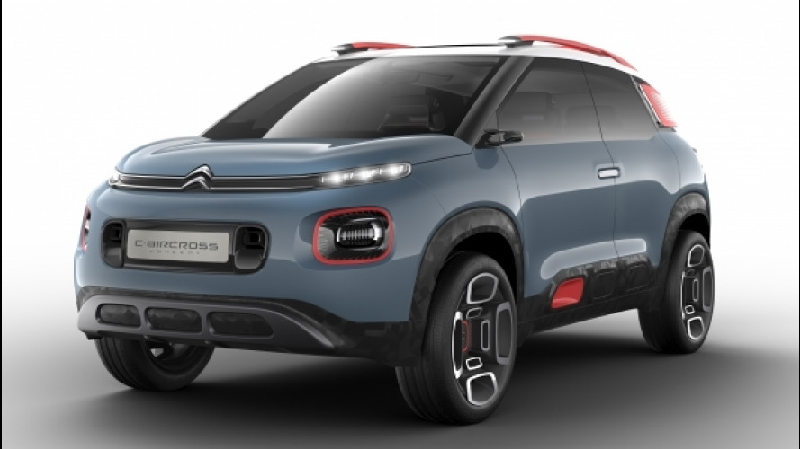 Citroen C-Aircross Concept, il nuovo SUV compatto [VIDEO]