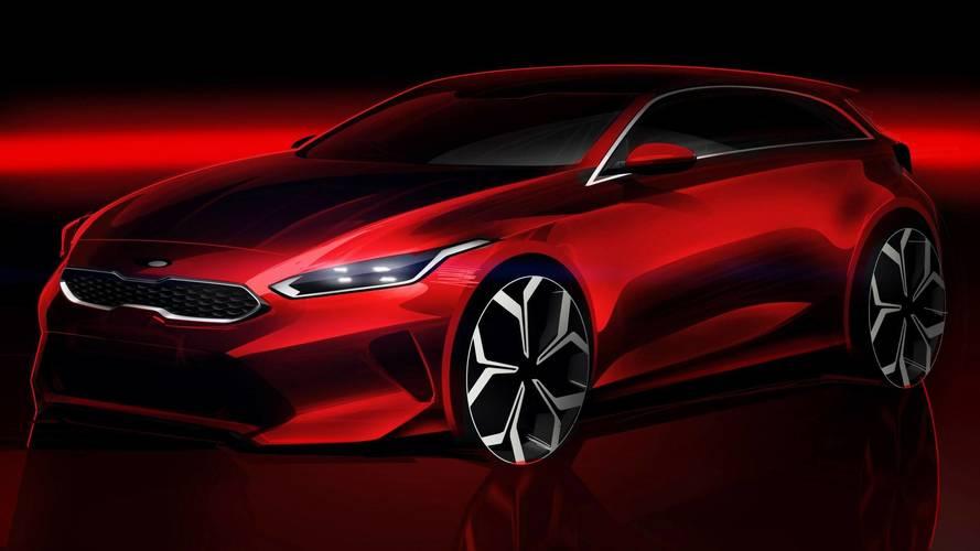Nova geração do Kia Ceed ganha primeiro teaser oficial