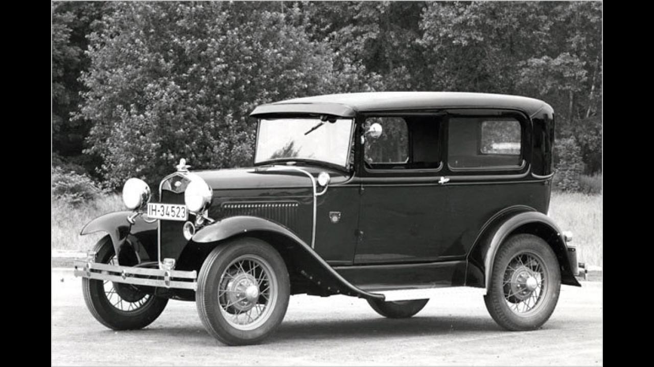 Das Modell A: erster Ford aus Köln