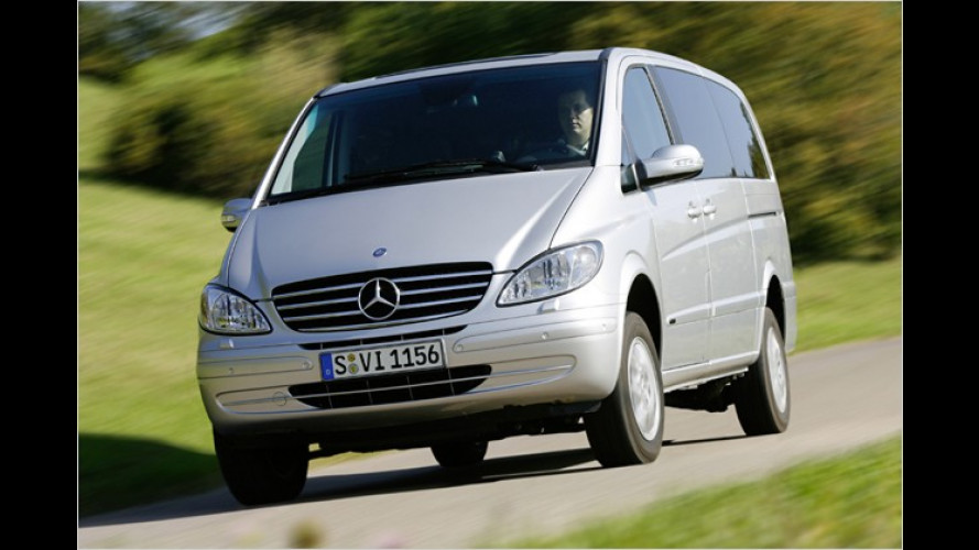 Mercedes-Camper mit neuen Ausstattungsmerkmalen