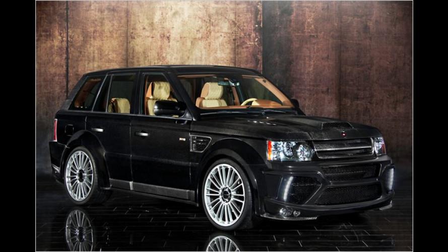 Ende Gelände: Range Rover Sport von Mansory