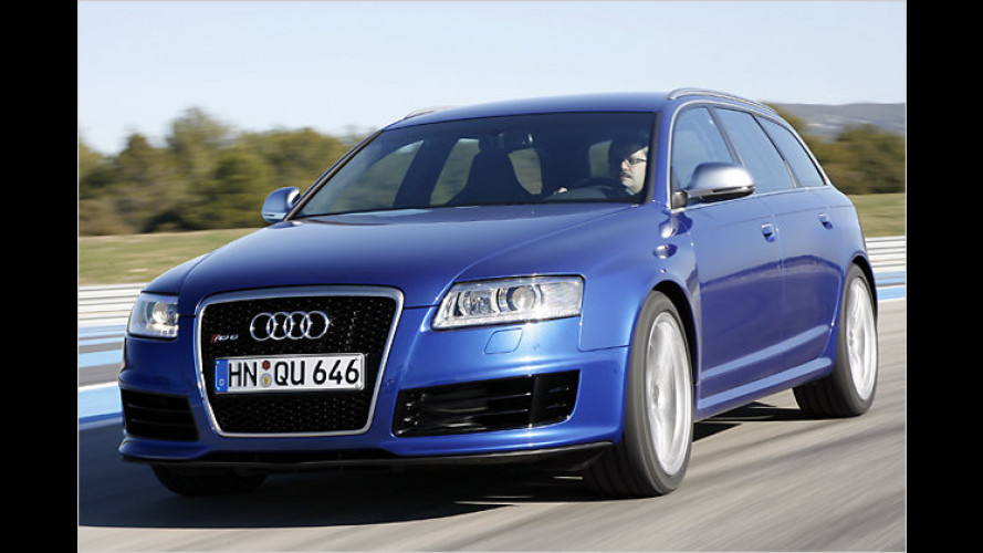 Test Audi RS6 Avant: Ring frei für den Kombi-Boliden