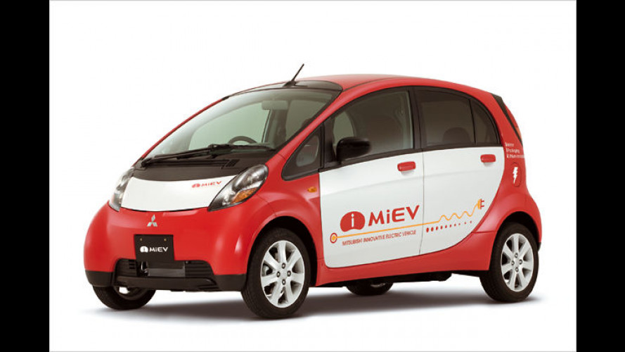 Ab 2009: Mitsubishi testet seine Elektrofahrzeuge in Island