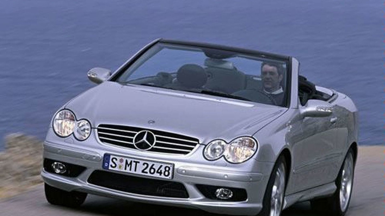MB CLK55 AMG Cabriolet