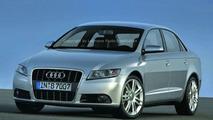 Next generation Audi A4 computer rendering