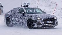 2019 Audi A6 üretim farları casus fotoğraf