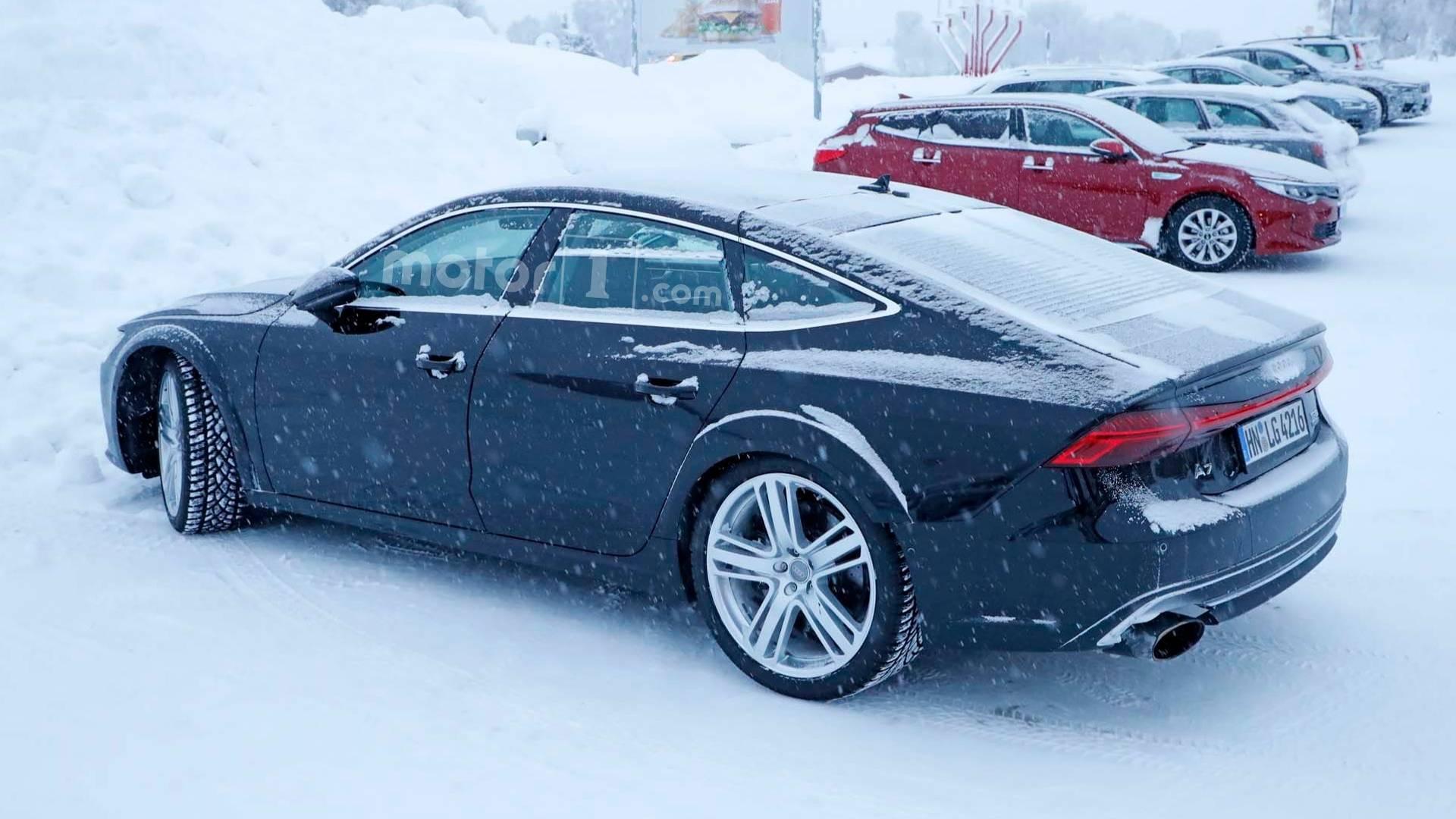 2017 - [Audi] A7 Sportback II - Page 8 2019-audi-rs7-sportback-spy-photo