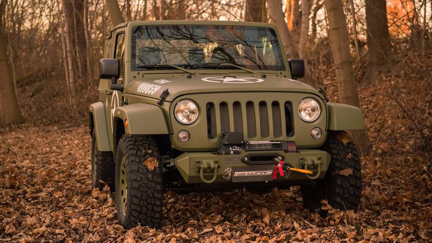 Jeep Wrangler Willys Custom Pays Tribute To A Classic