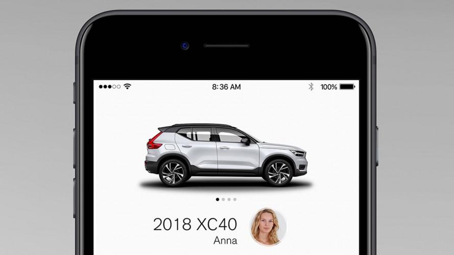 Volvo XC40, il SUV si acquista come uno smartphone