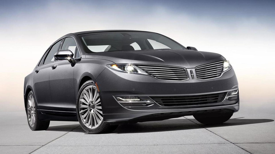 2013 Lincoln MKZ pricing announced (US)