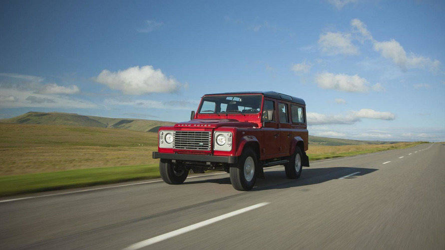 2013 Land Rover Defender gets minor updates