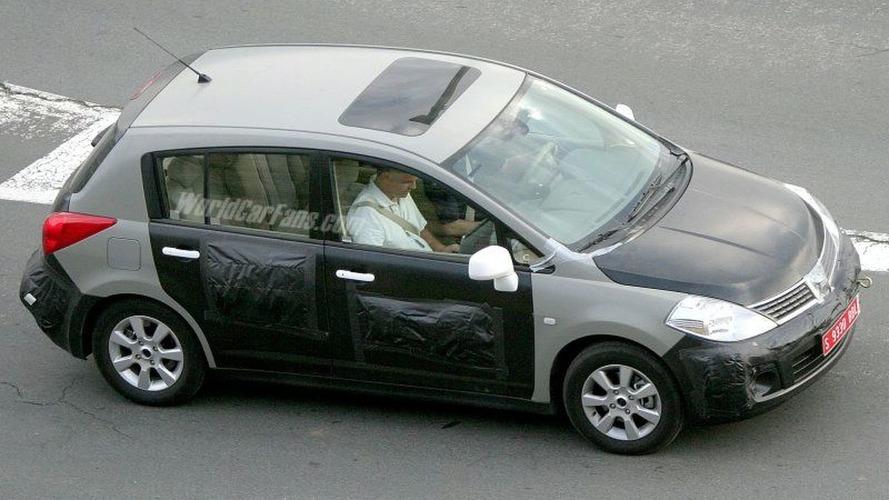 Spy Photos: More Nissan Almera Replacement