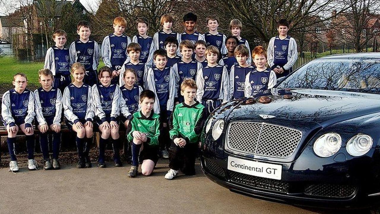 Bentley sponsors Bowden School soccer team