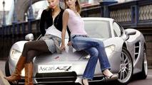 Ascari KZ1 at London Fashion Week