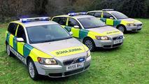 Volvo V50 Sportwagon to Join Hampshire Ambulance (UK)