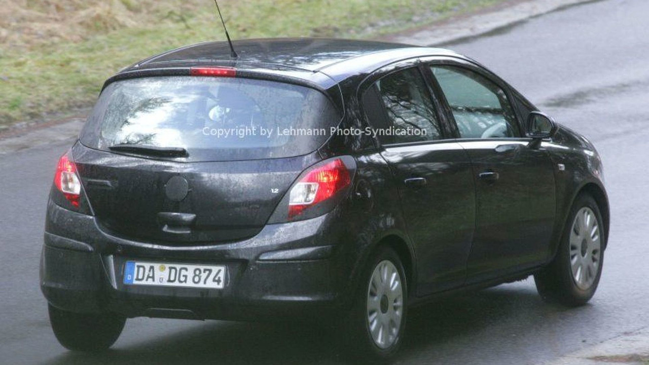 New Opel Corsa Spy Photos