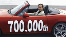 Mazda Builds MX-5 Number 700,000