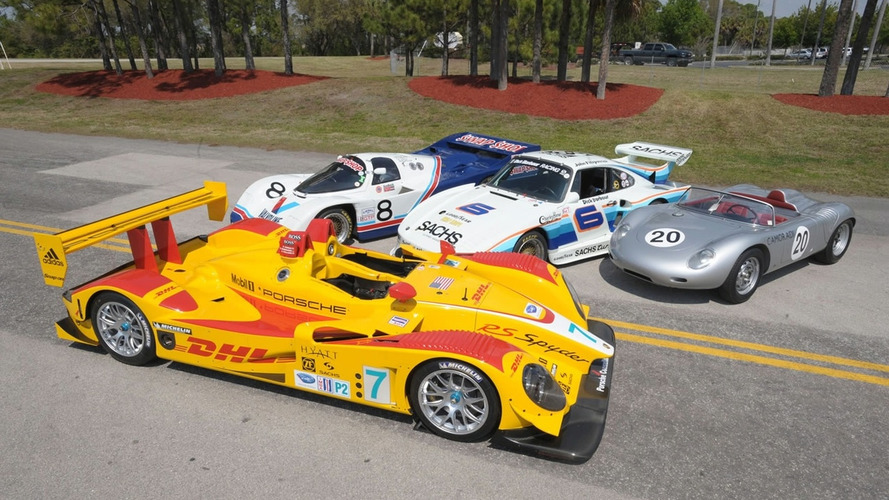 Most Successful Porsche Race Cars Reunite at 12 Hours of Sebring