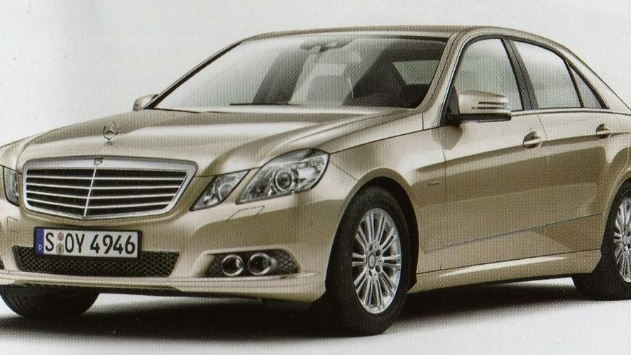 Mercedes E-Class sedan brochure scans leaked