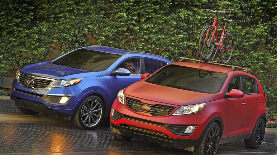 Kia Sportage Work & Play