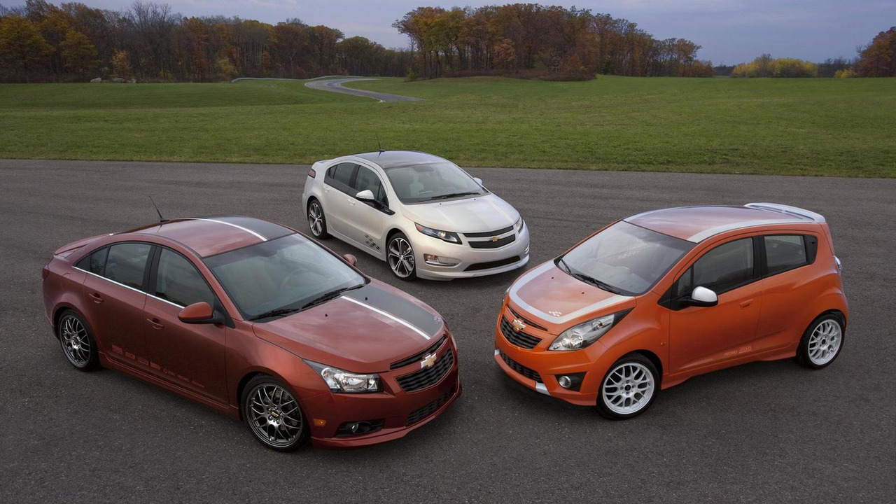 All Chevy chevy concepts : Chevy unveils Volt, Cruze, and Spark Z-Spec Concepts