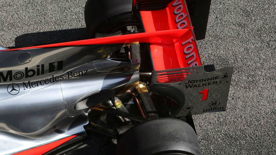 Ferrari not 'excited' about rear wing legality - McLaren