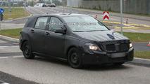 2012 Mercedes B-Class spy photo