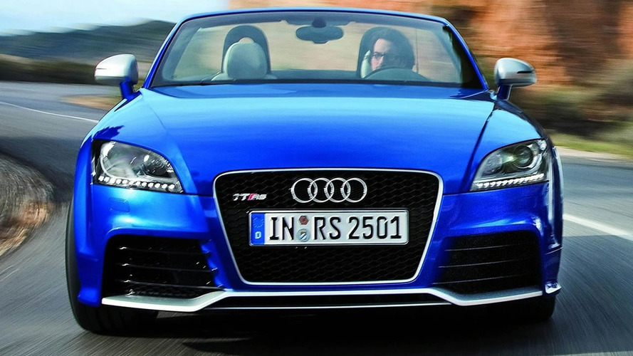 Audi TT RS Driving Footage