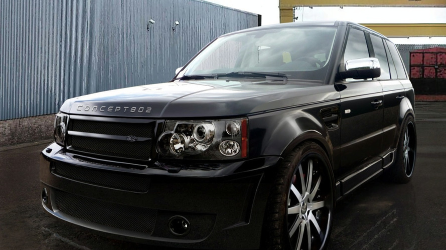 Range Rover Sport Platinum S Wide Body Kit by Concept802