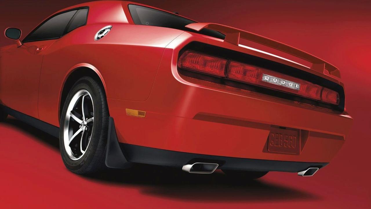 Dodge Challenger with Mopar Go-Wing spoiler