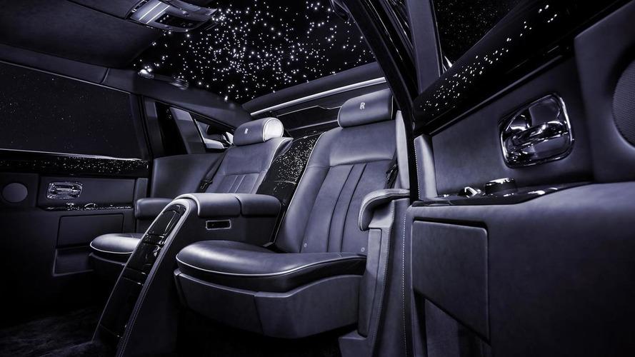 Rolls-Royce Celestial Phantom receives 446 diamonds for Dubai Motor Show