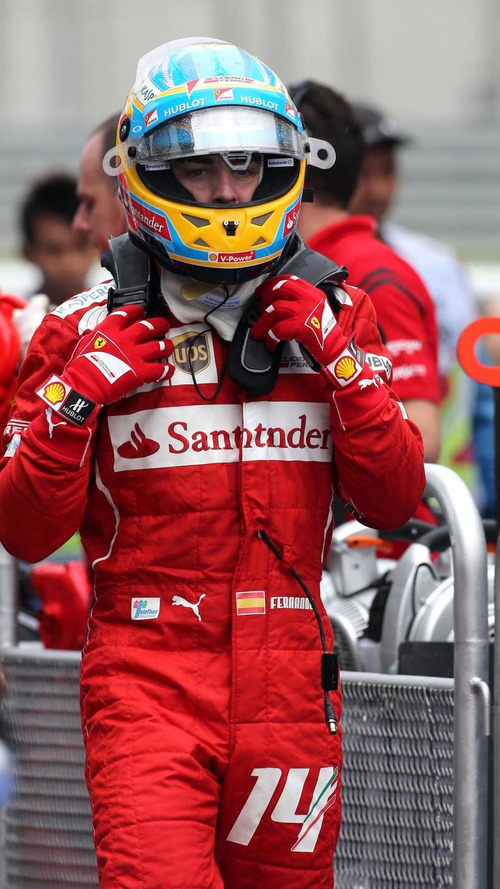 F1 driver 'passed out' in Malaysia