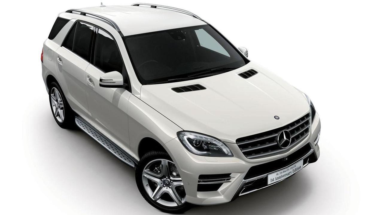 Mercedes ML350 BlueTEC 4MATIC 1st Anniversary Edition 28.8.2013